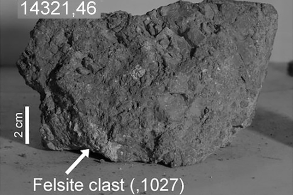 Earth's Oldest Rock Found On The Moon