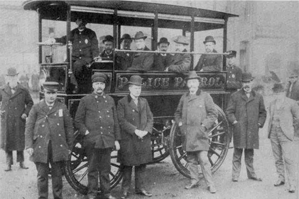 America's First Police Car