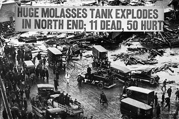 The Great Molasses Flood of 1919