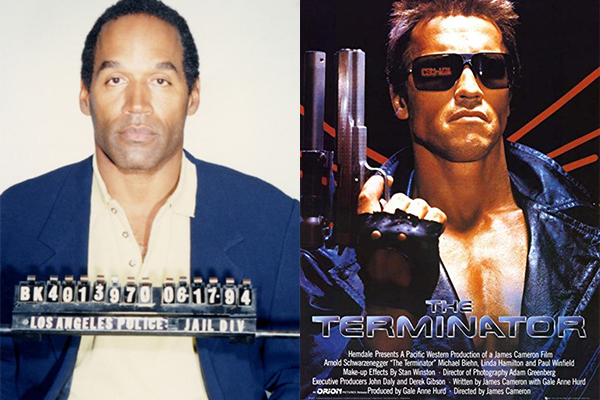 OJ Simpson was almost the Terminator