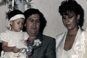 Pablo Escobar and Maria VIctoria Henao