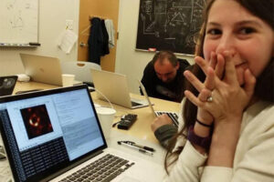Katie Bouman wrote the algorithm for first black hole photo.