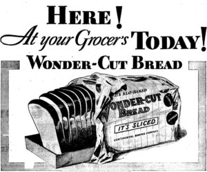 Wonder Cut Bread Advertisiment