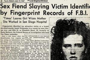 Black Dahlia Identified
